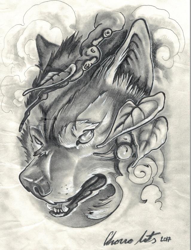 Lobo tattoo palencia tatuadores