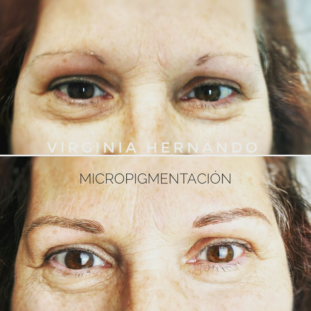 micropigmentación pelo a pelo cejas palencia virginia hernando