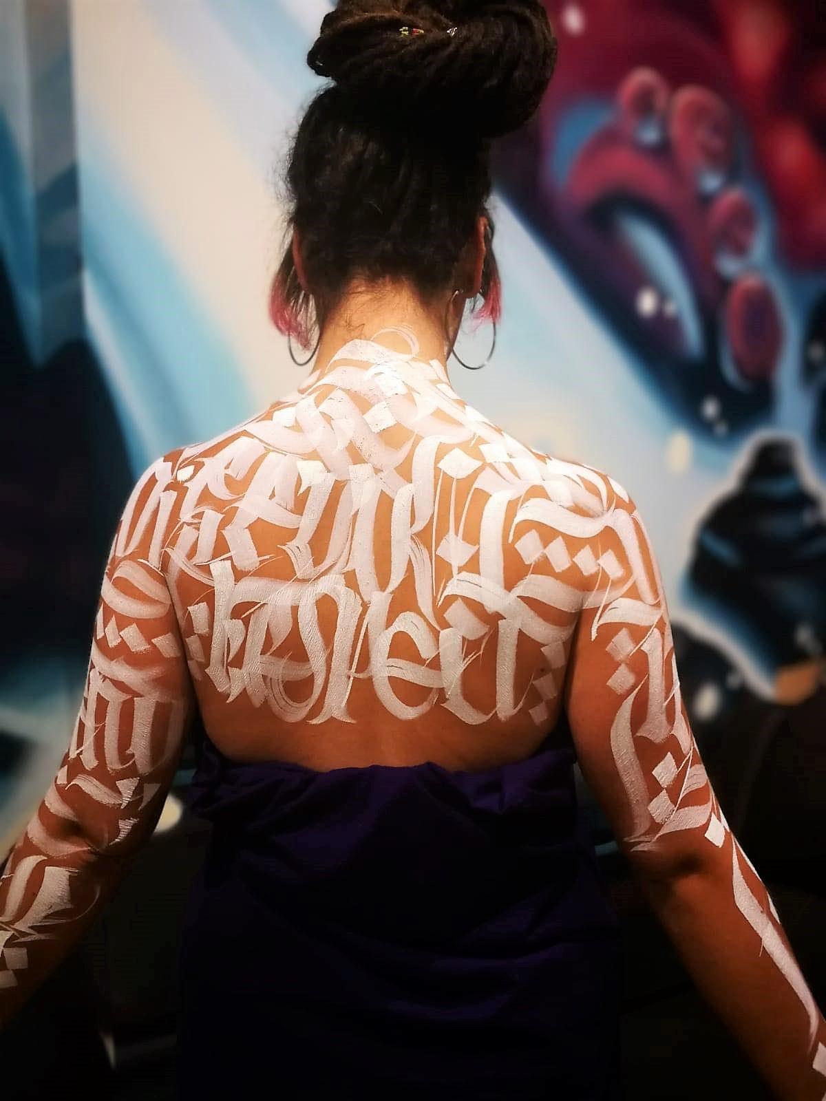 MR ZE caligraffiti palencia caligrafía artística san antolin infame