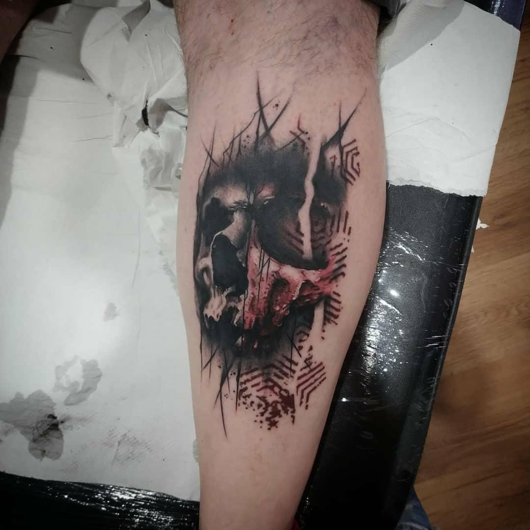 victor calderon palencia tatuaje tattoo infame san antolin