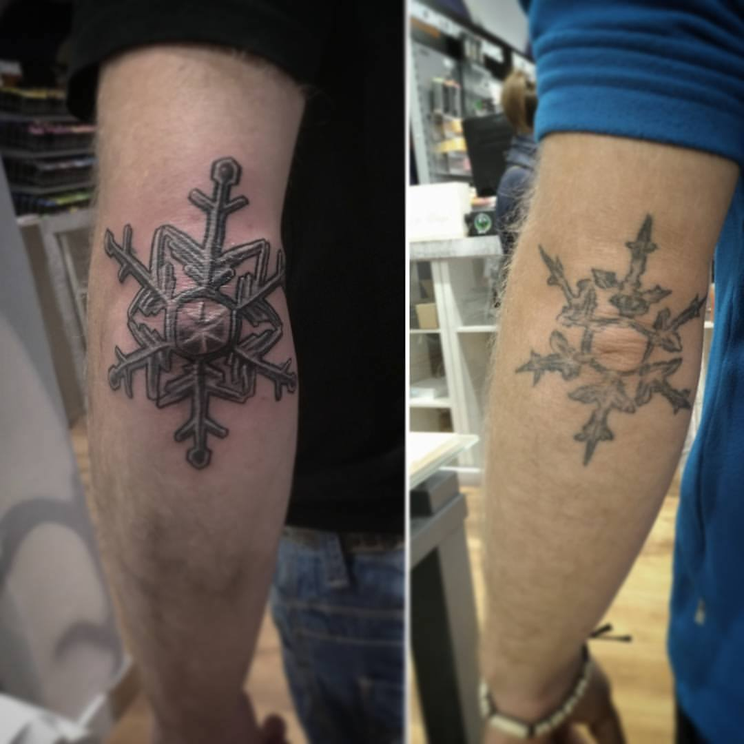 make up tatuaje tattoo palencia estrella