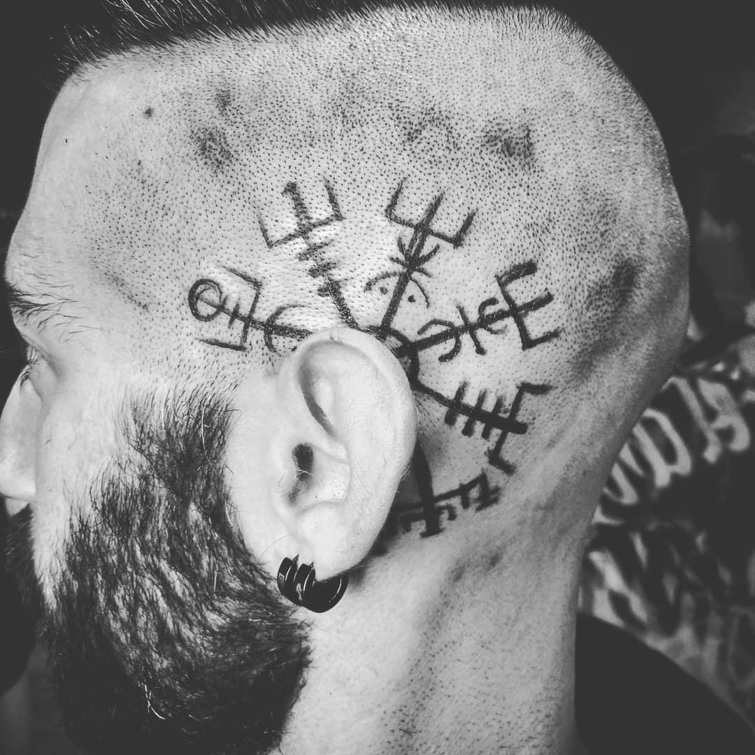 tatuajes palencia tatuaje runas vegvisir
