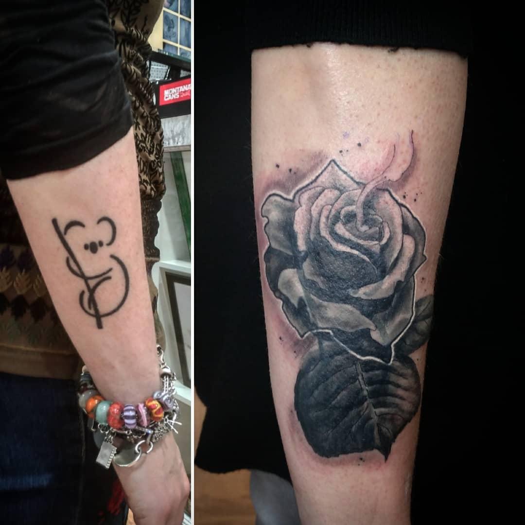 cover up tattoo palencia como quitar tatuaje  cubrir tatuaje oxygeno Valladolid